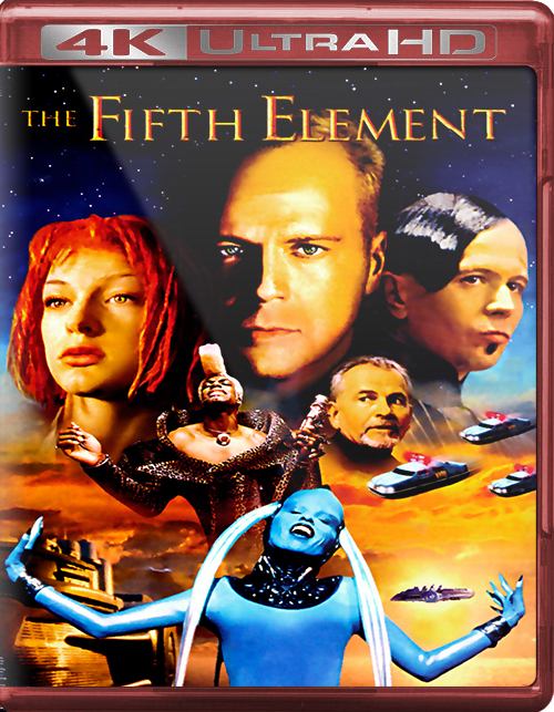 The Fifth Element [1997] [UHD] [2160p] [Latino]