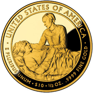 United States Gold Coins Margaret Taylor First Spouse $10 Dollars Gold Coin