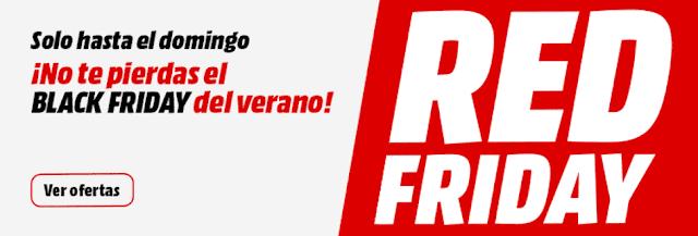 Top 10 ofertas Red Friday de Media Markt