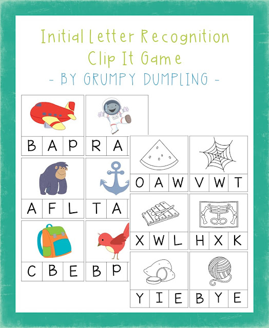https://www.teacherspayteachers.com/Product/Initial-Letter-Recognition-Clip-It-Game-Uppercase-Letters-C-and-BW-2483740