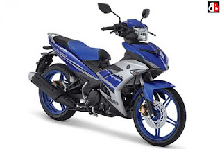 Yamaha MX-King Racing Blue Terbaru 2016