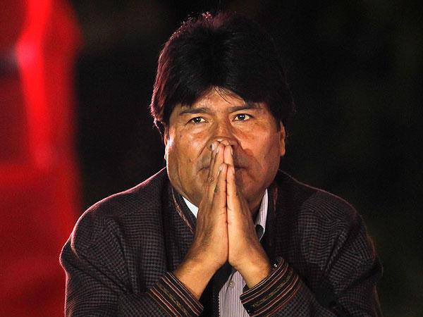INFOMANOS: EVO MORALES AYMA PRESIDENTE DE BOLIVIA