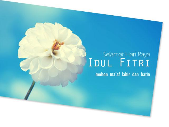 Koleksi Desain Kartu Ucapan Selamat Idul Fitri