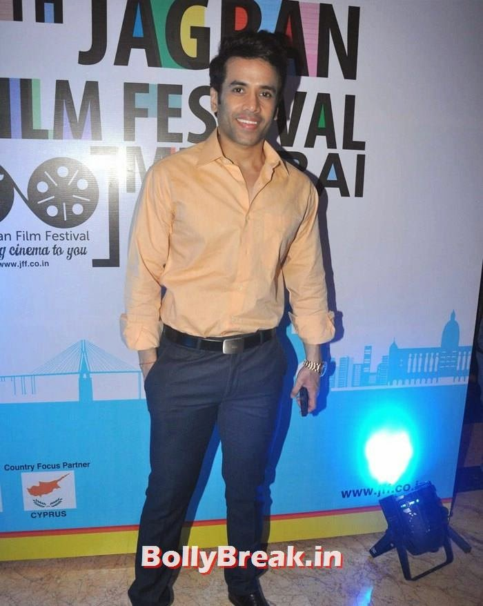 Tusshar Kapoor, 5th Jagran Film Festival Red Carpet Pics