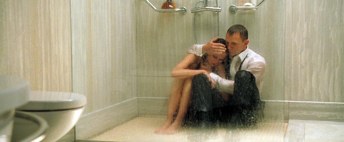 James Bond  The Secret Agent Do you shower like James Bond
