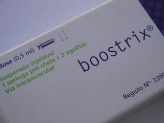 Boostrix® - vacina contra a difteria, tétano e tosse convulsa