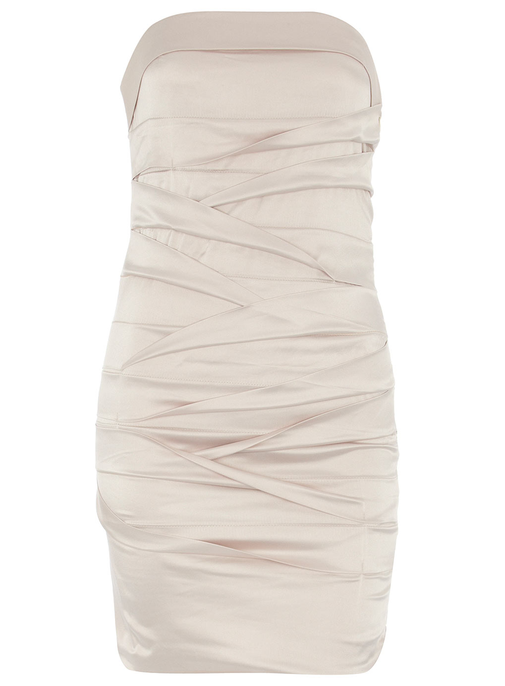 Made In Chelsea Millie Mackintosh Bandage Bandeau Dress