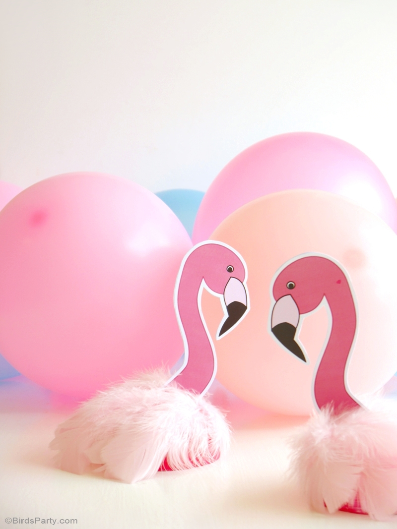 DIY Flamingo Birthday Party Decorations Party Ideas Party Printables