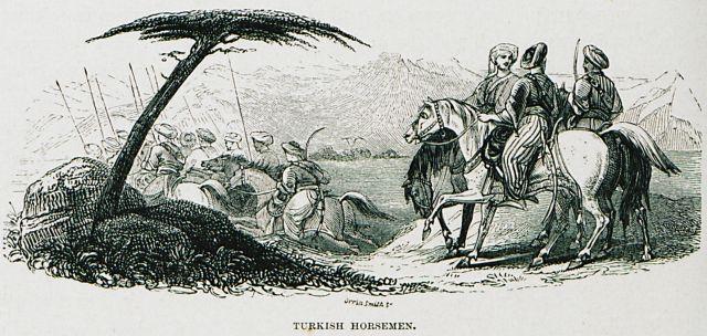 ΟΘΩΜΑΝΟΙ ΙΠΠΕΙΣ 1882 ΠΡΕΒΕΖΑ