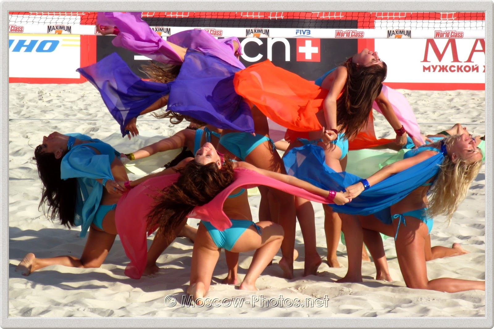 Beach Volleyball Cheerleaders 2011