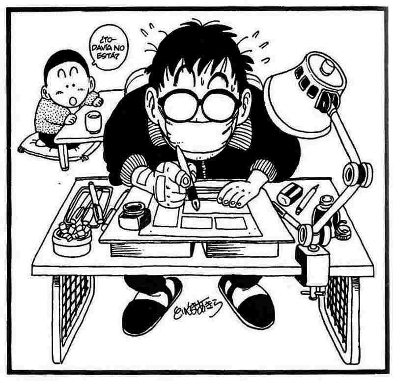 Lecciones de dibujo manga con Akira Toriyama