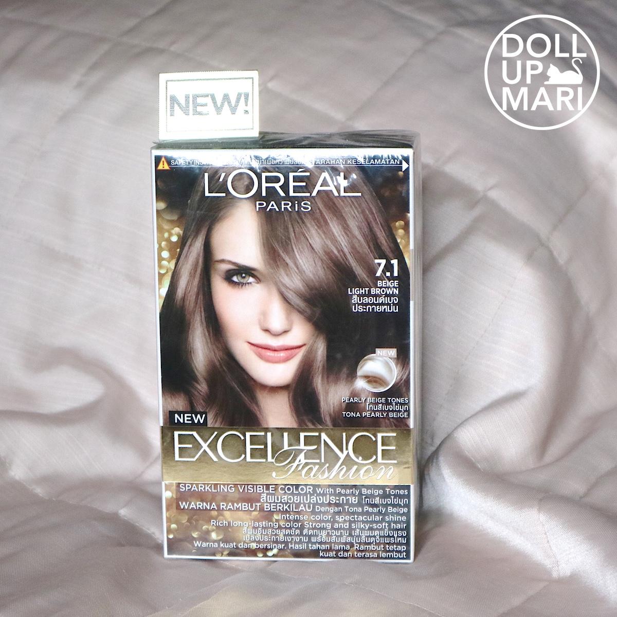 L Oreal Excellence Fashion Hair Dye Review Famous Hair Dye 2018