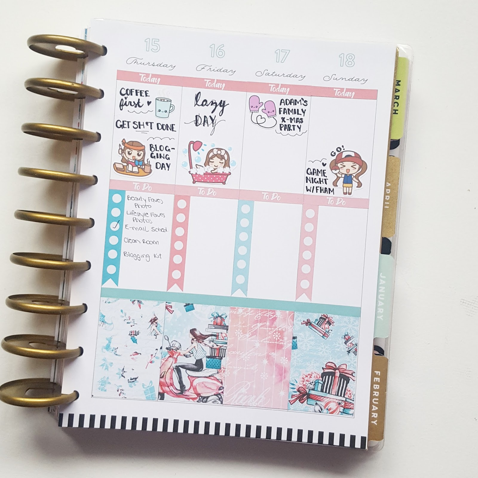 Life Planner Plan With Me Christmas