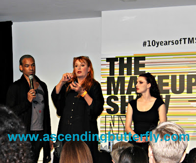 Signature Style Ellis Faas q n a presentation 4 with James Vincent during The Makeup Show 2015 in New York City #10 yearsofTMS WATERMARKED, The Makeup Show, Beauty, Cosmetics, #bbloggers, Lifestyle Blogger