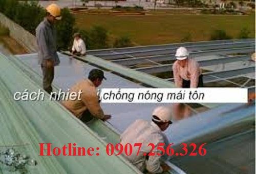 túi khí cách nhiệt chống nóng mái tôn