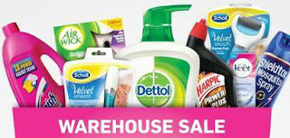 RB (Household Products) Warehouse Sale 2016