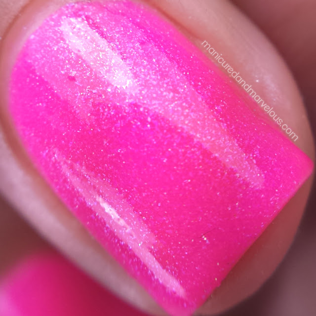 Lollipop Posse Lacquer - Shock Me Sane