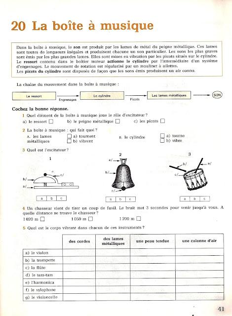 manuels anciens porte ouverte sur les sciences livrets 1 et 2 1983