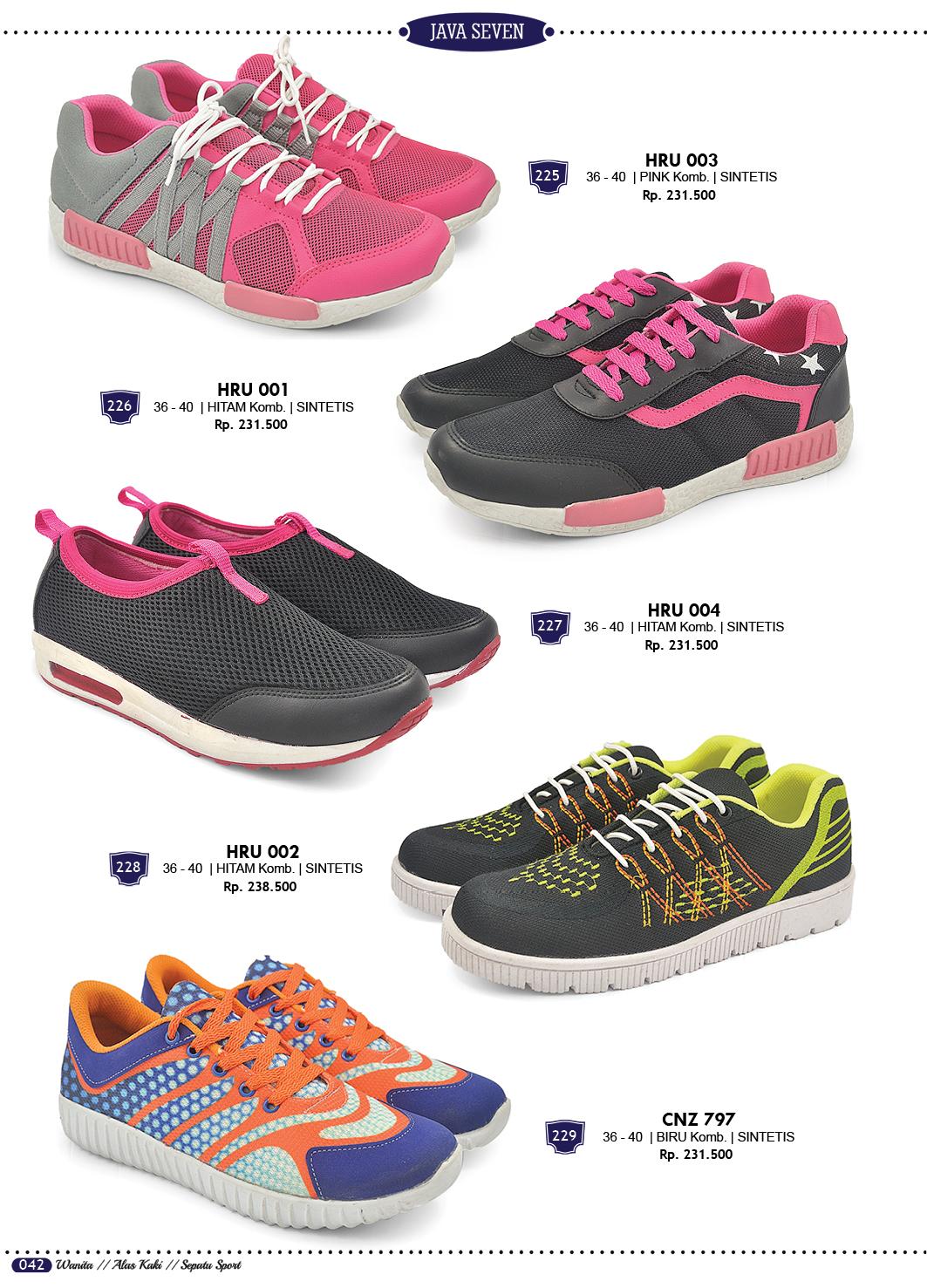 Sepatu Sandal Dan Tas Terbaru Katalog Java Seven 2018