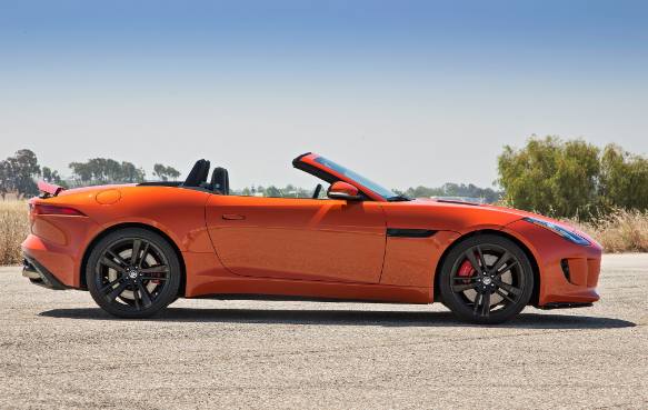 2014 Jaguar F-type V-8 S Roadster Review