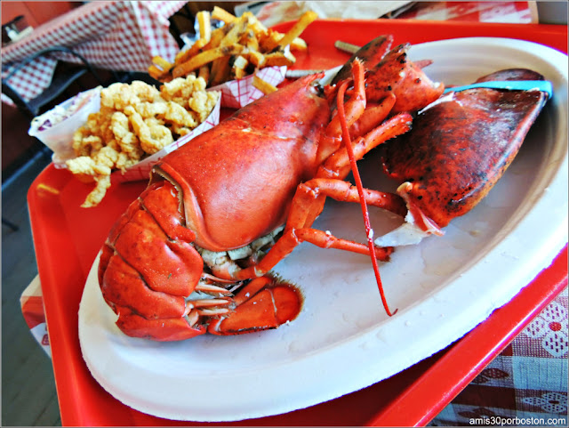The Lobster Pool: Bandeja de Marisco en Rockport