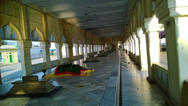 Graves of Asaj Jahi Rulers in Hyderabad, Telangana, India
