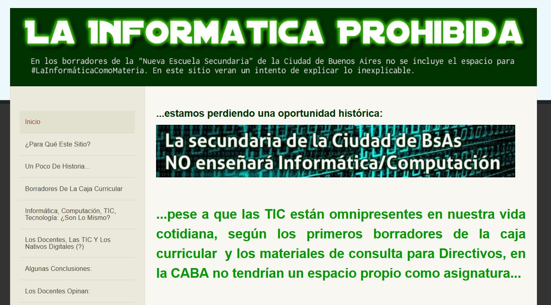 www.lainformaticaprohibida.weebly.com