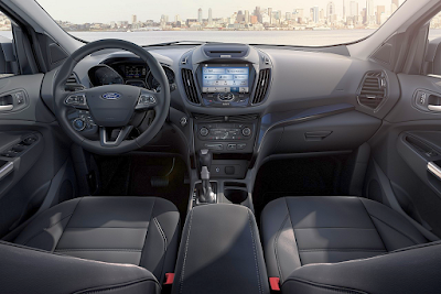 2017 Ford Escape Interior Pics