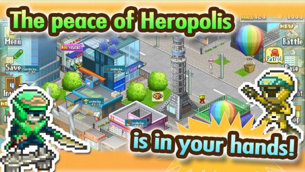 Legend of heropolis apk Screenshot 2