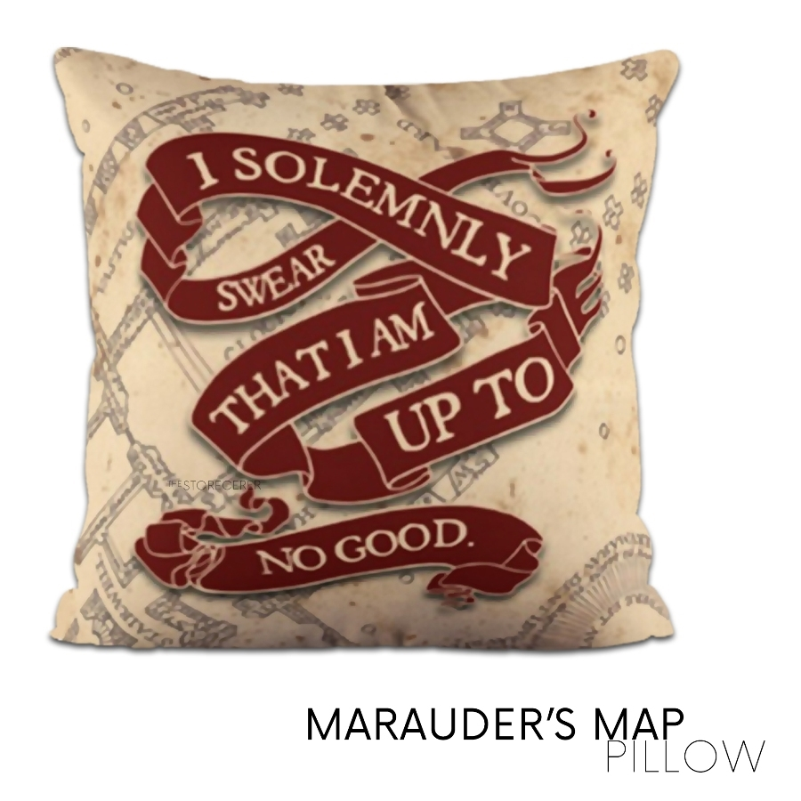 bantal kotak marauders map