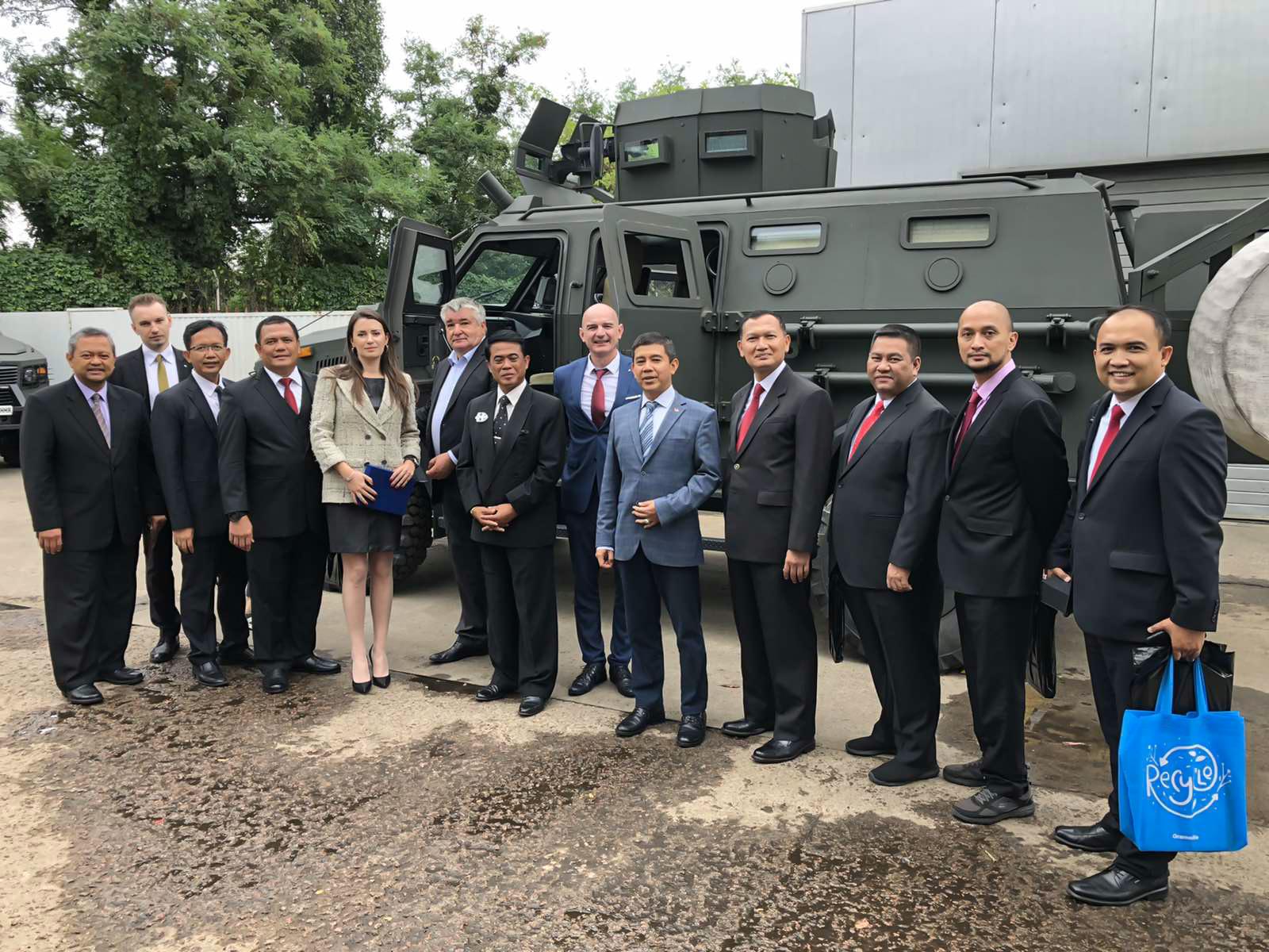 Індонезійська делегація відвідала НВО Практика