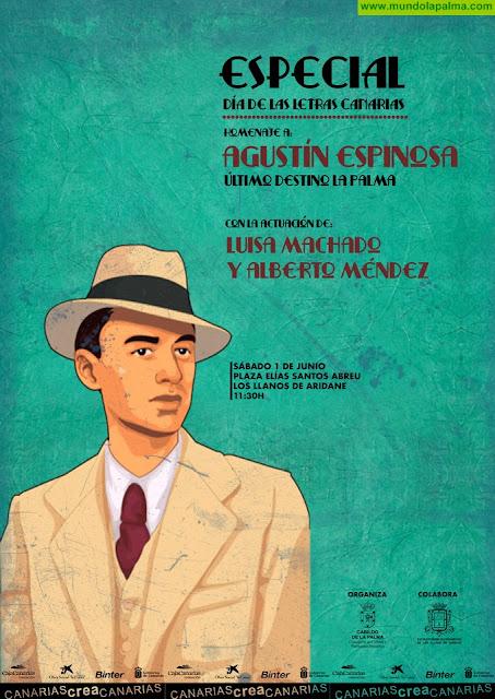 Diferentes personalidades de la cultura se acercarán a la figura de Agustín Espinosa en La Palma