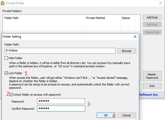 Trik Cepat Cara Mengunci Folder-Folder Pada PC/Laptop Dengan mudah