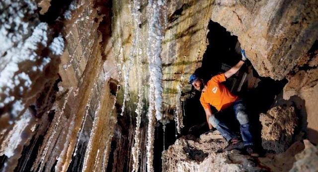 Dünyanın en uzun tuz mağarası!