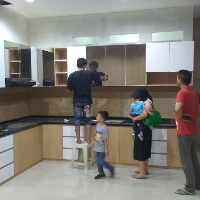 Gambar Hasil Konsultasi Kitchen set Murah