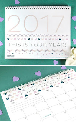 2017 inspirational calendar