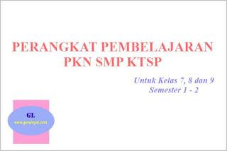 perangkat pembelajaran pkn untuk smp ktsp
