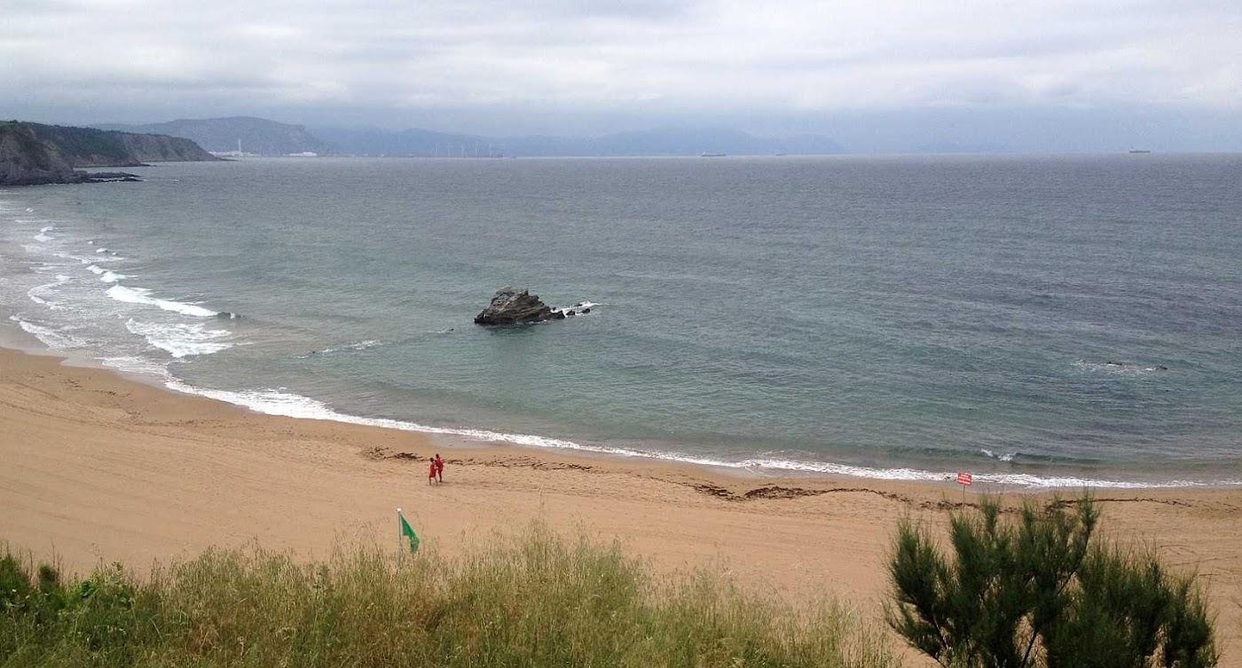 sopela playa surf olas parte