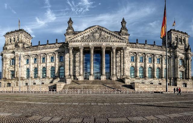 Palácio do Reichstag em Berlim