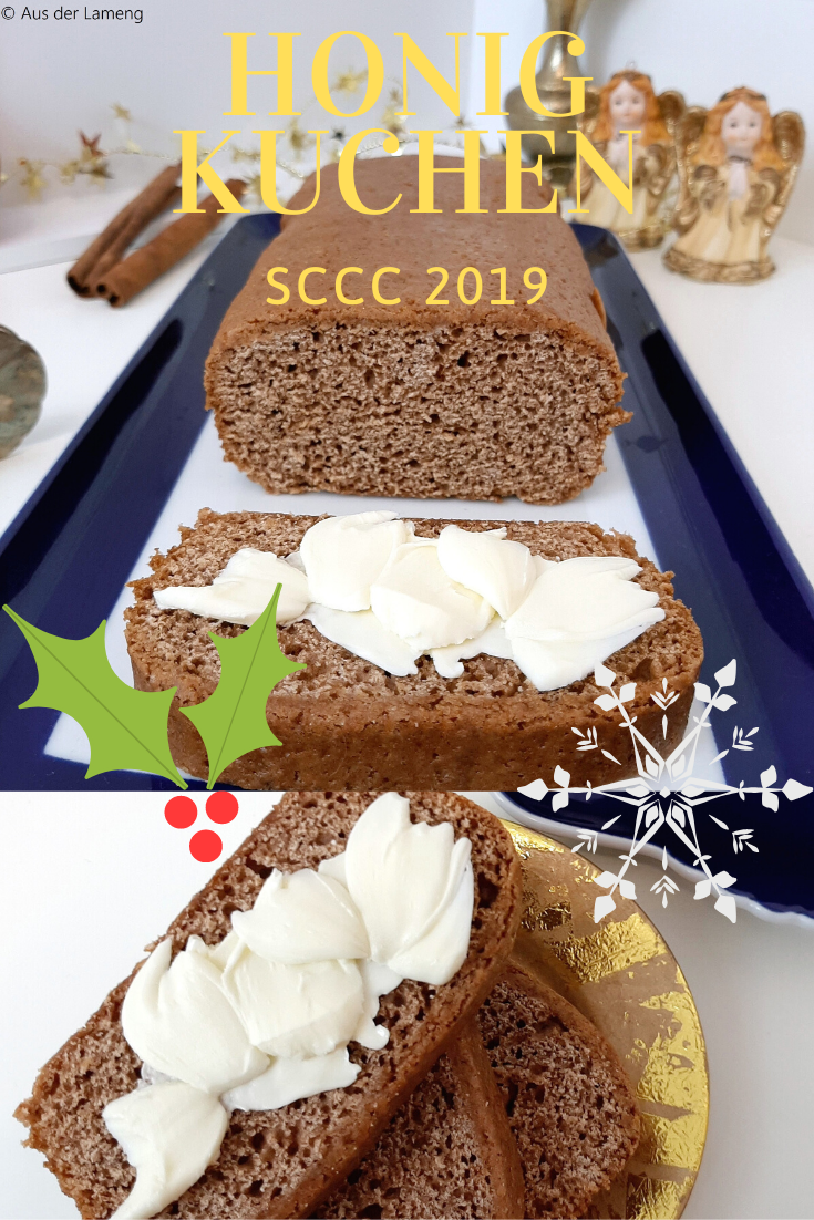Honiglebkuchen - Rezept von Aus der Lameng | SCCC 2019: Türchen Nr. 5 | Gewinnspiel