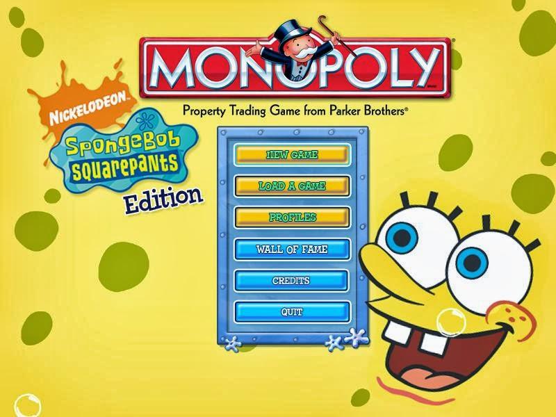free serial game house monopoly spongebob squarepants install exe