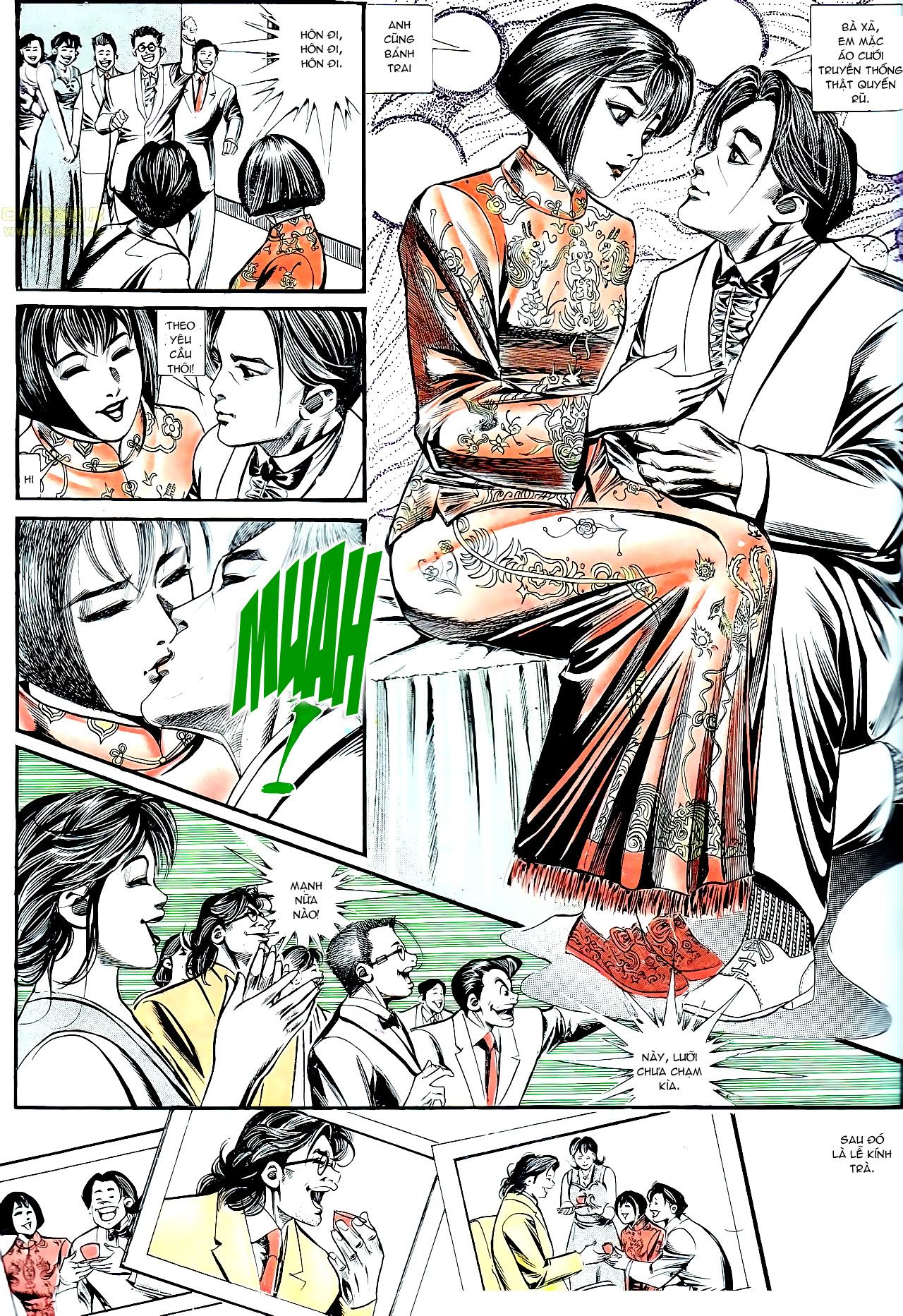 Người Trong Giang Hồ chapter 137: yêu nhất là ai trang 36