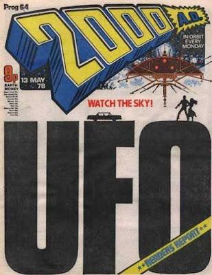 2000 AD Prog 64, UFO