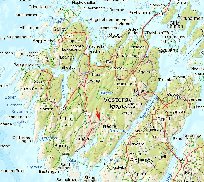 vesterøy kart Klatring på Hvaler: 2013 vesterøy kart