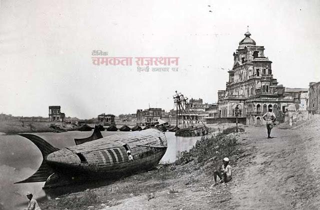 कैमरे ने वो देखा जो किसी ने नहीं देखा, Chattar Manzil Palace 1857