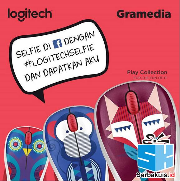 Kontes Selfie Gramedia Hadiah 10 Produk Logitech M238