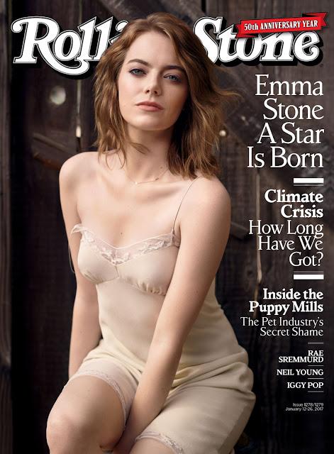 Emma Stone – Rolling Stone Magazine