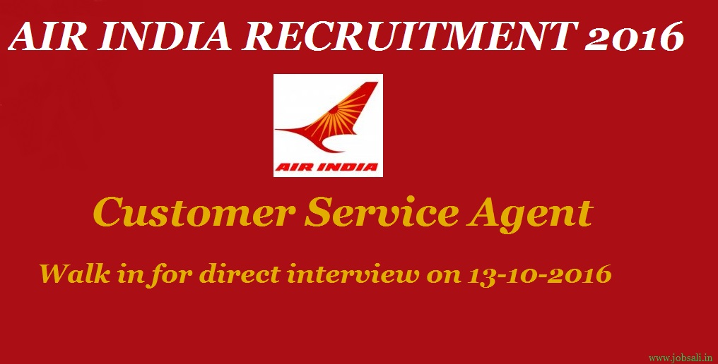 Air India Vacancy, Government jobs in delhi