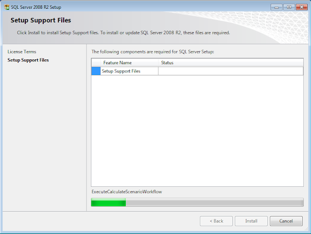 SQL Server 2008 R2 Installation Setup Support Files
