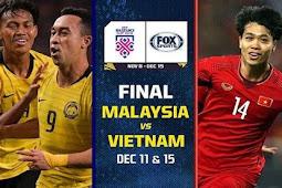 Live Streaming Malaysia vs Vietnam 11 Desember 2018